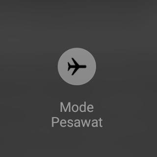 Mengaktifkan-mode-pesawat