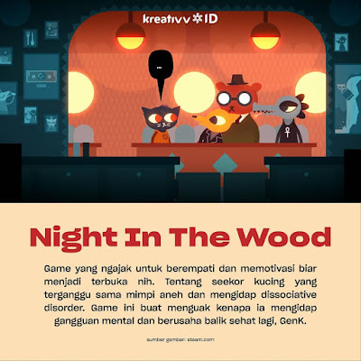 Game Night The Wood Peduli Dengan Kesehatan Mental