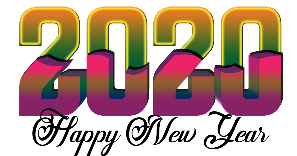 Happy New Year 2020 3d PNG Picture   naveengfx