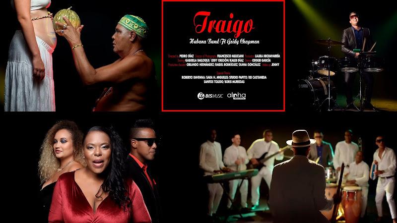 Habana Band - ¨Traigo¨ - Videoclip - Director: Pedro Díaz. portal Del Vídeo Clip Cubano. Música popular bailable cubana. Son. Salsa. Timba. CUBA.