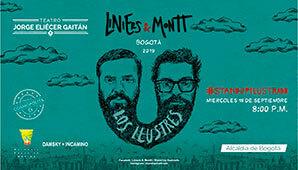 LOS ILUSTRES: LINIERS & MONTT en Bogotá 2019