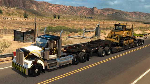 American Truck Simulator Oregon Free Download