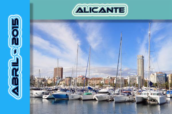 PREVISIÓN DE CRUCEROS - Alicante Abril 2015