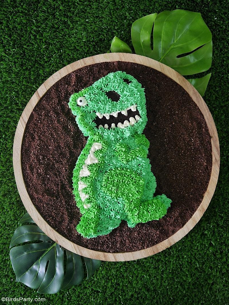 Easy Dinosaur Birthday Cake