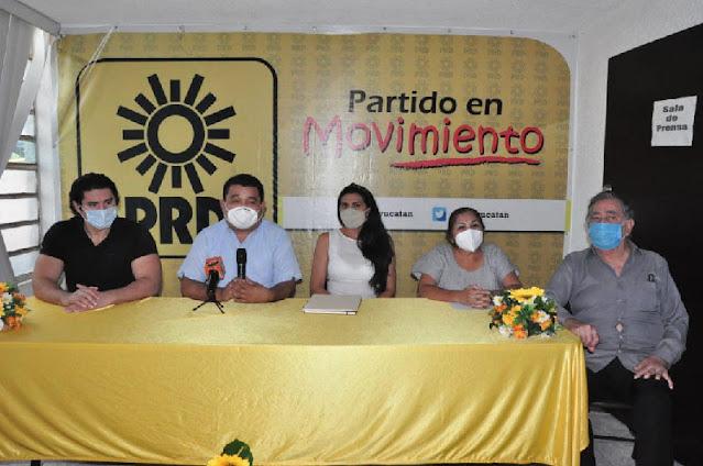 La torera Lupita López y FORTE se suman al PRD en Yucatán