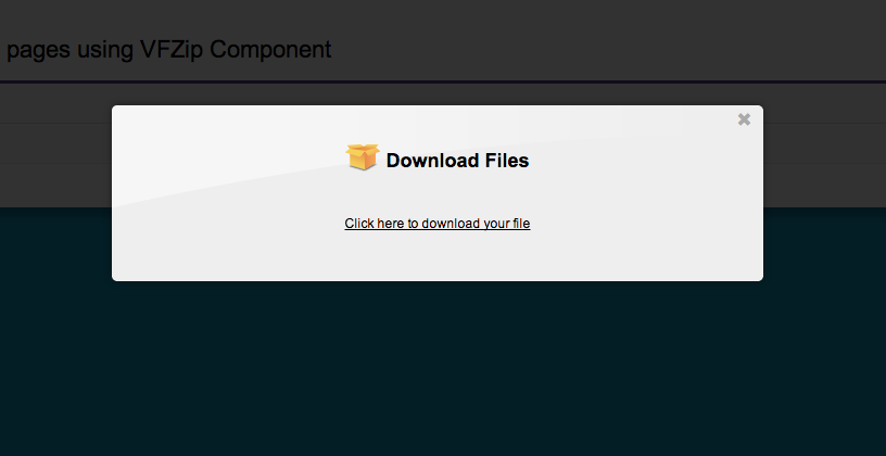 BlogForce9: VFZip : Create ZIP files inside Force com