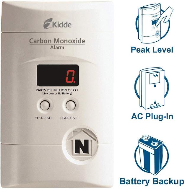 Nighthawk Plug in Carbon Monoxide Detector Alarm