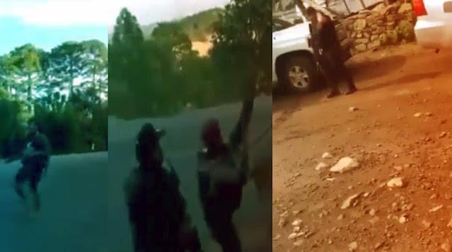 """Así se enfrentó el Grupo Flechas de la Operativa Mayo Zambada vs. las fuerzas del """"Mencho""""."""