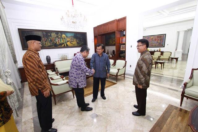 Lanjutkan Silaturahim Tokoh Bangsa, PKS Kunjungi Jusuf Kalla di Rumah Dinas Wapres