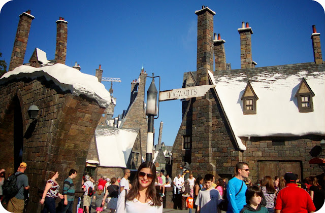 Parque Islands of Adventure / Orlando / Estados Unidos  / Harry Potter and the Forbidden Journey