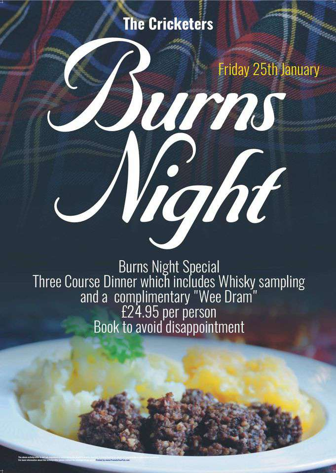 Burns Night Wishes Sweet Images
