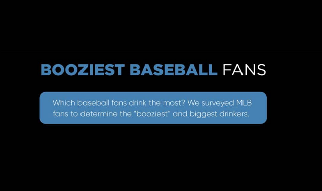 MLB fanbases who drink the most