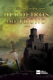 livros, books, livros nacionais, sérrie Herdeiros do trono, Blog Pensamentos Valem Ouro, parcerias, autores parceiros