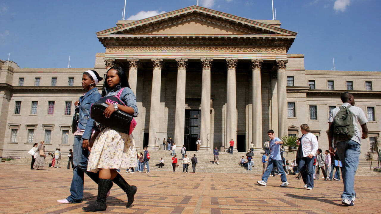Bourses d'études de l'Université de Wits en Afrique du Sud 2020