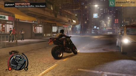 Sleeping Dogs Gameplay Driving