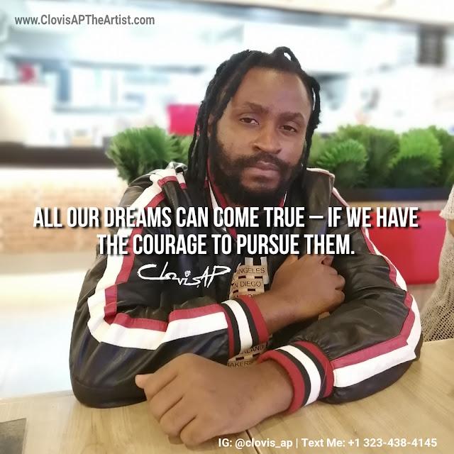 Clovis AP Motivational Quote