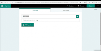 Panduan Microsoft Form 5