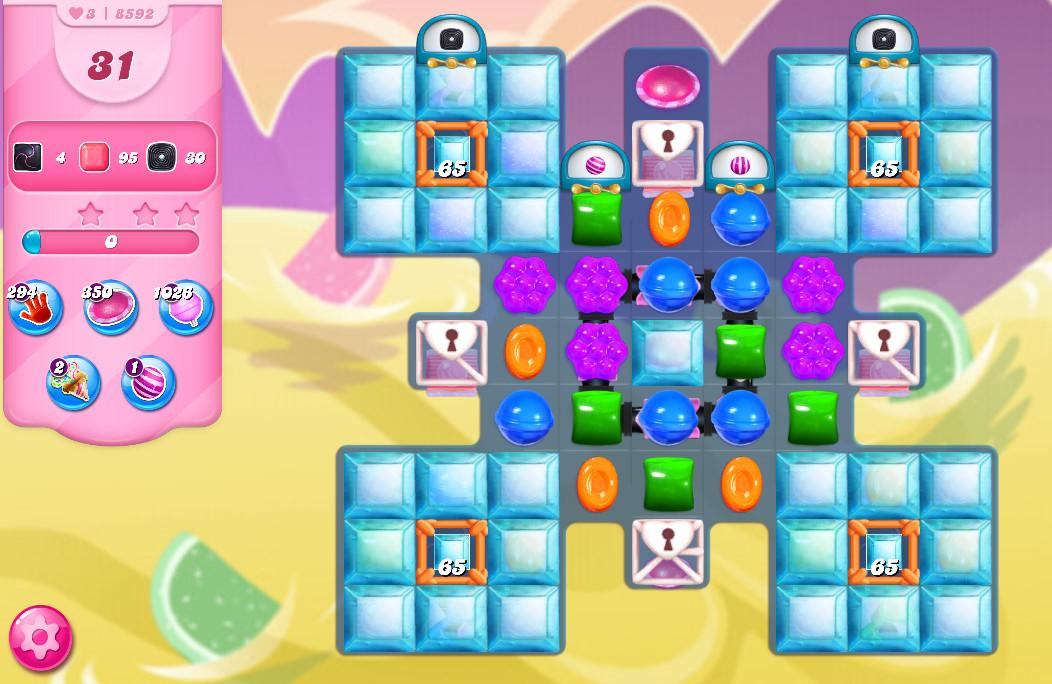 Candy Crush Saga level 8592