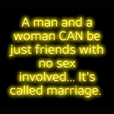 A man and a women..