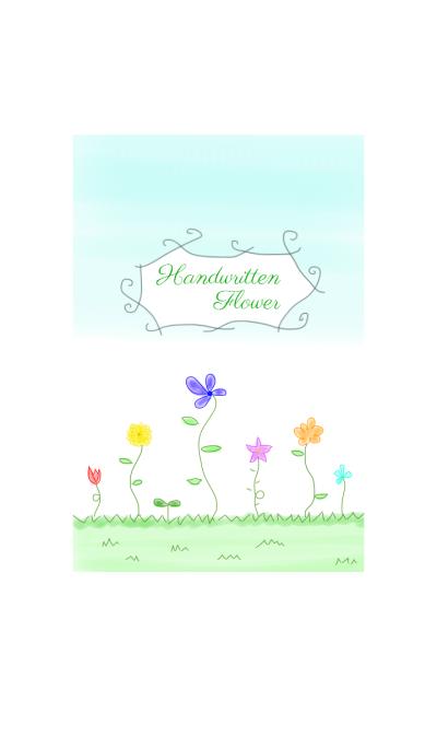 Handwritten Flowers