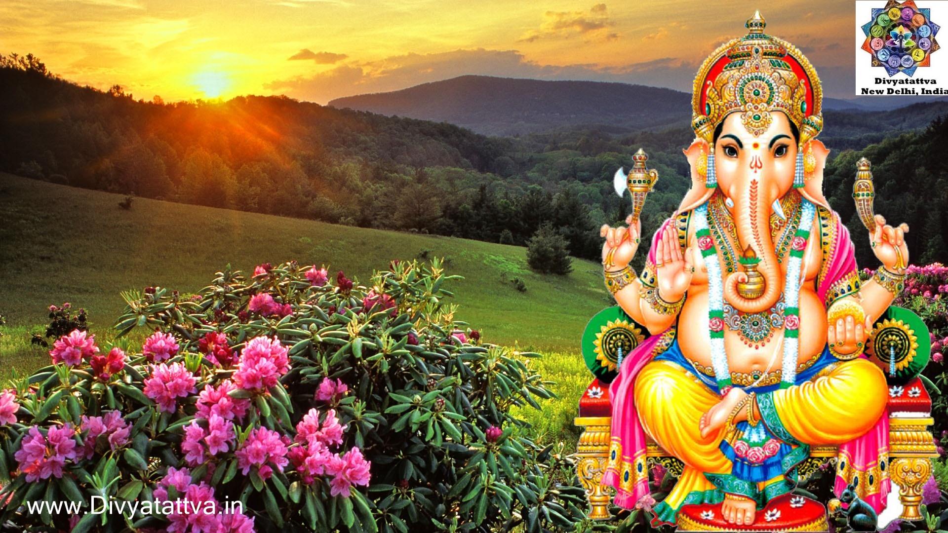 vinayagar chathurthi hd wallpaper, Ganesha 3D Wallpaper HD