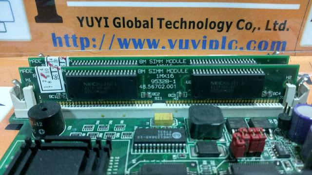 Advantech PCA-6159 REV A201-1 CPU Board and 8M SIMM MODULE