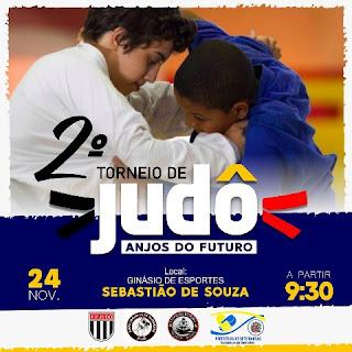 II TORNEIO DE JUDÔ PROJETO ANJOS DO FUTURO A ASSOCIAÇÃO SETE BARRENSE DE JUDÔ