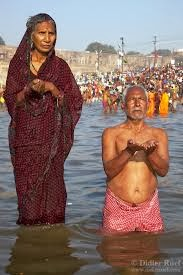ritual bath hindu