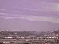 UFO Terbakar Memicu Kepanikan Di Spanyol
