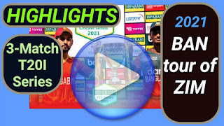 Zimbabwe vs Bangladesh T20I Series 2021