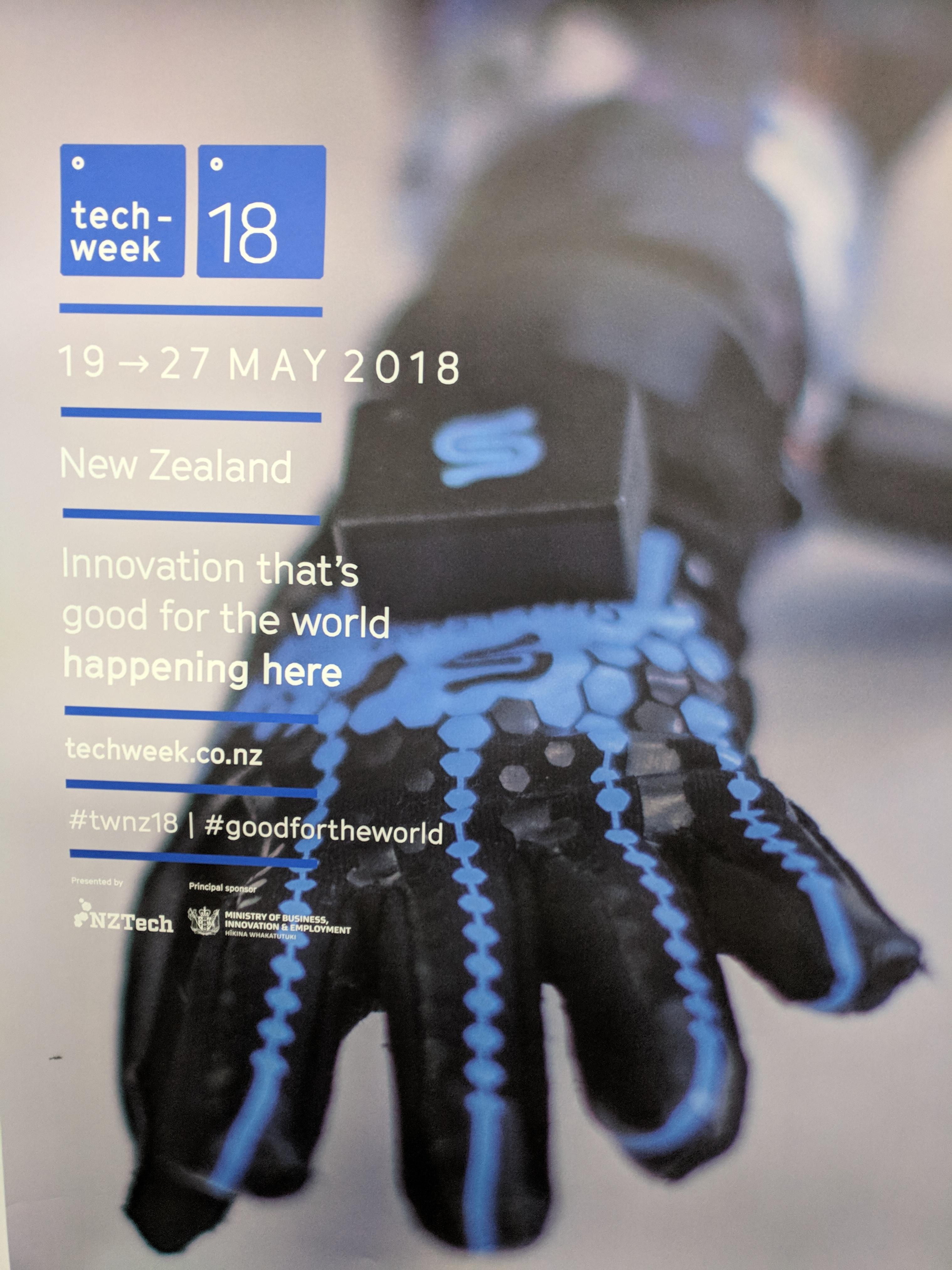 Tech Week 2018 poster