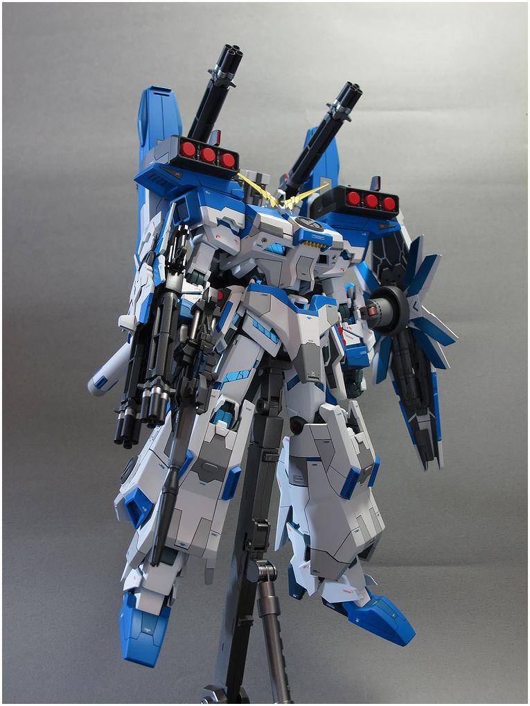 NAN∞NAC Toy Workspace : 【網友作例】MG 1/100 獨角獸(全武裝版本)