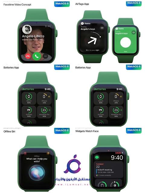 شاهد تسريبات مميزات تحديث watchOS القادم لساعة Apple Watch في مؤتمر WWDC21