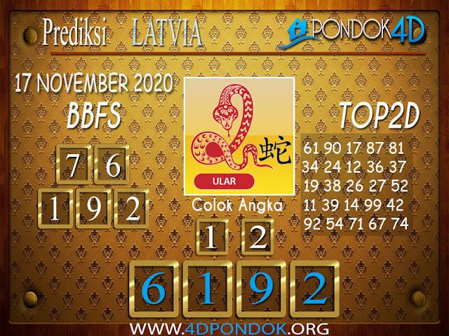 Prediksi Togel LATVIA PONDOK4D 17 NOVEMBER 2020