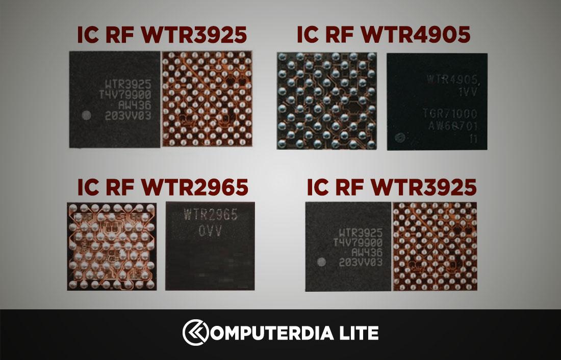 Pengertian IC WTR, IC RF serta Penjelasan Cara Kerja IC WTR dan IC RF