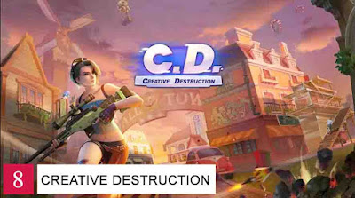 Game Battle Royale Offline Android Creative Destruction