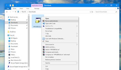 HP USB disk format tool से मेमोरी कार्ड repair करें