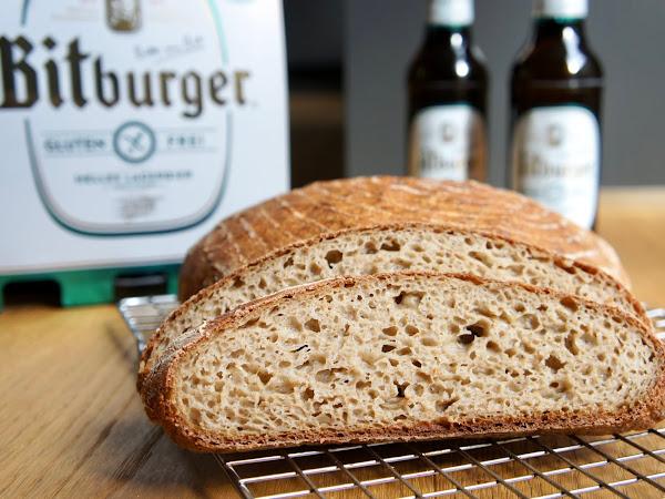 REZEPT: glutenfreies Bierbrot mit Bitburger