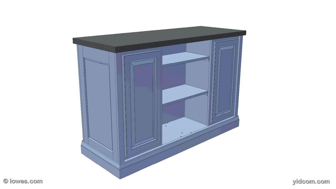Como construir un mueble de cocina mueble isla mueble for Mueble isla cocina