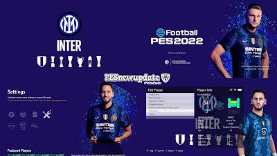 PES 2021 Menu Mod Inter FC 2021/2022 by PESNewupdate