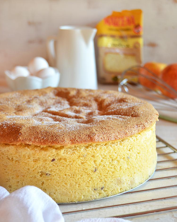 Torta de manzana sin gluten