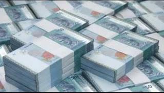 Sapa tak nak duit = Orang Gila La Tu