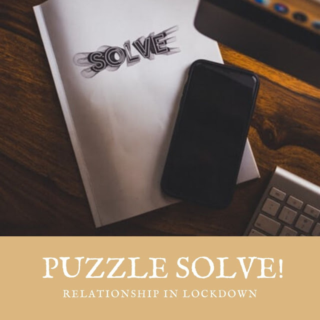 puzzle solve during lockdown