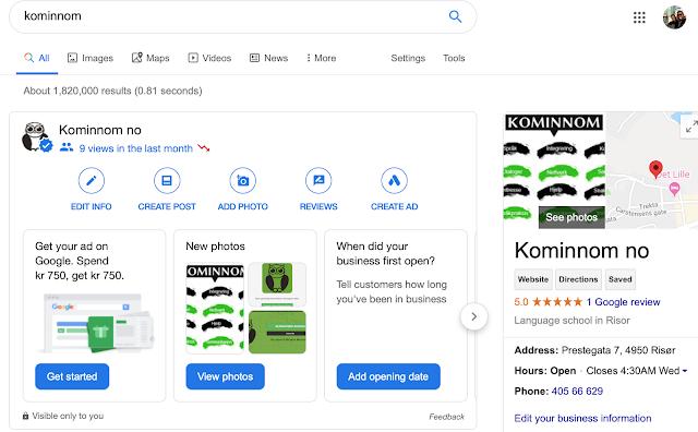 محرك بحث قوقل - كيفيه تحسين نتائج البحث المحلية