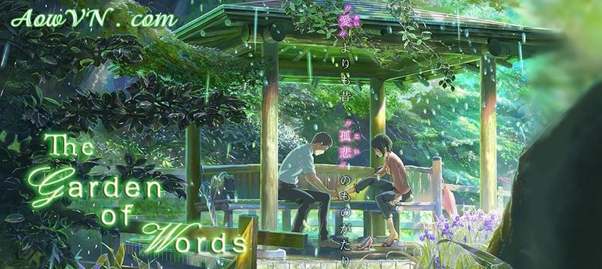 AowVN - [ Anime 3gp Mp4 ] Kotonoha No Niwa Bluray | Vietsub - Khu Vườn Ngôn Từ