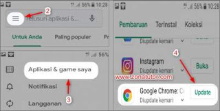 Cara Update Google Chrome Di Hp Android Dan Table