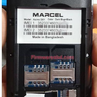Marcel Axino D01 Flash File