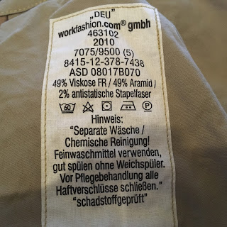 saksalaisten housujen tuoteseloste
