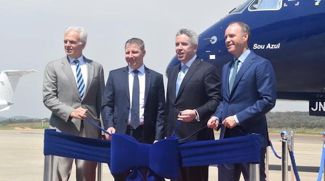 Resultado de imagem para Embraer entrega primeira unidade do maior avião comercial brasileiro