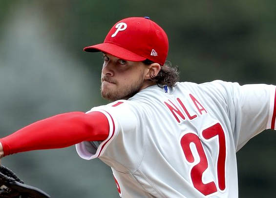 Phillies win opener behind Aaron Nola